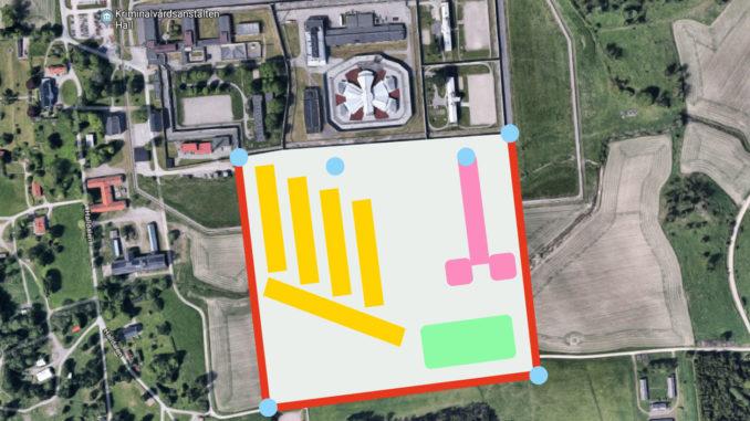 Planen för utbyggnaden av Hall. Bild: 3Dsign AB