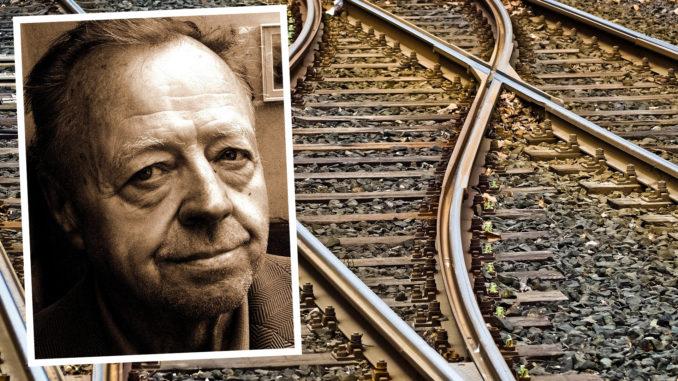 Arne somnade på tåget och vaknade först i Stuvsta.