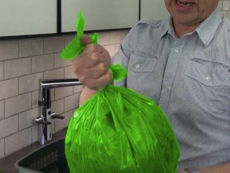 Nu görs Telge återvinnings gröna påse om