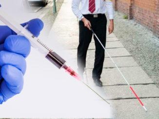 Döva personer får inte längre lämna blod. OBS: Bilden är ett montage.