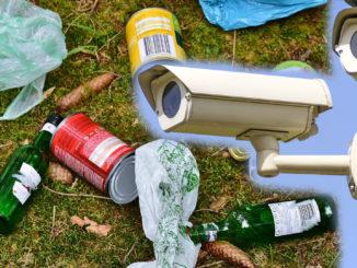 Kameror ska motverka nedskräpning